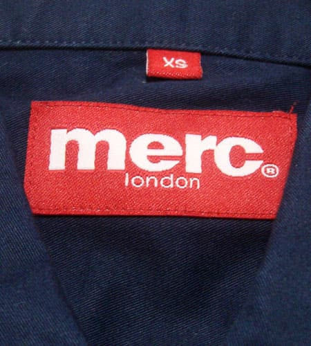[古着/USED]   merc london シャツ