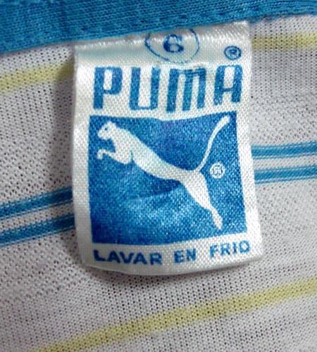 [古着/USED] 70's スペイン製 プーマ ポロシャツ