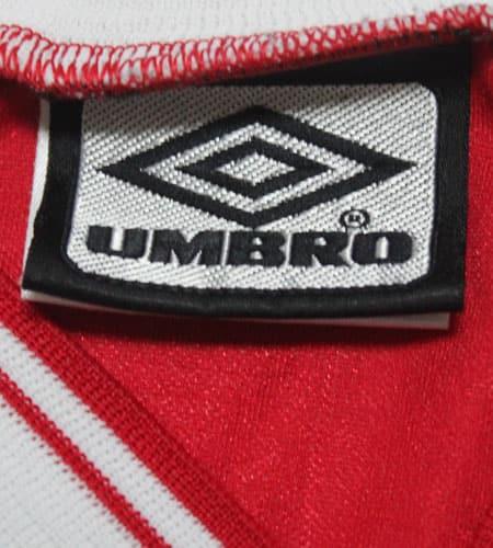 [古着/USED] 80's チュニジア製 UMBRO サッカーシャツ