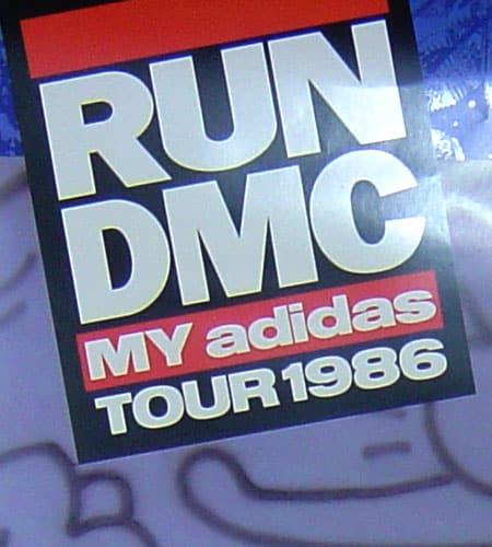 [古着/USED] 86's  ADIDAS×RUN-DMC